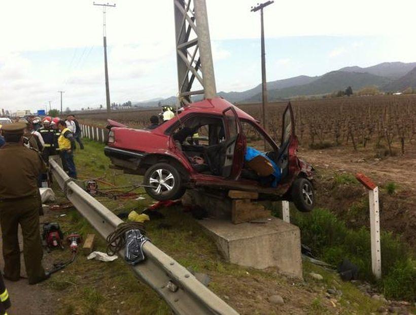 Un Muerto y Dos Heridos deja Accidente Frente a Molina
