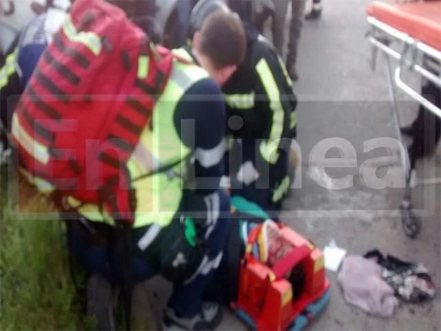 Ciclista Herido Tras ser Colisionado por Automóvil en Talca