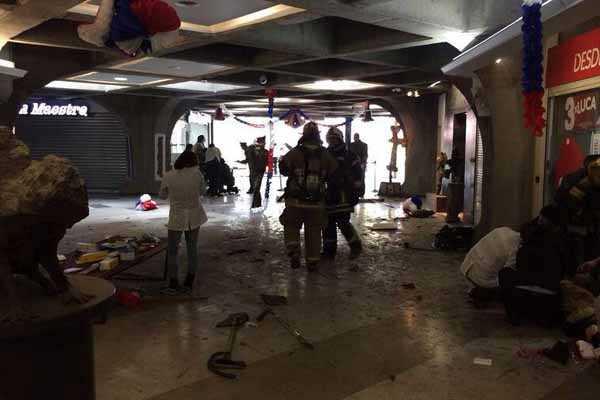 Siete Heridos deja Atentado Terrorista en Santiago