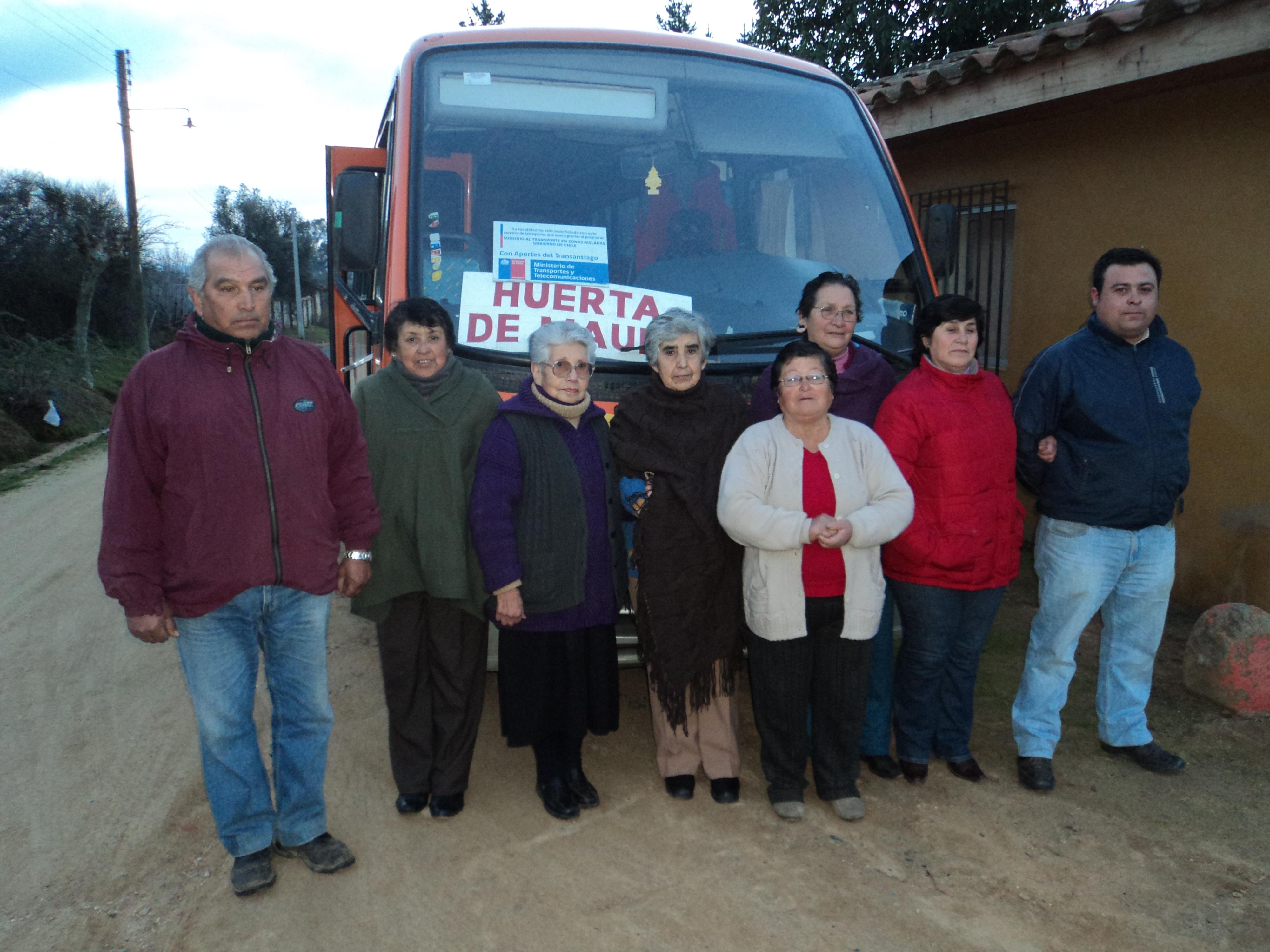 Vichuquén Contará con Transporte para Personas Aisladas