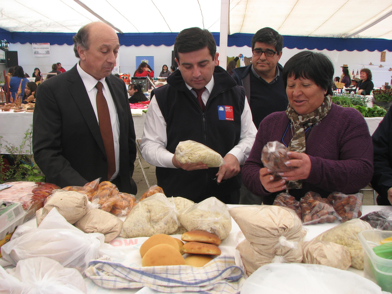 Usuarias de Indap Participaron en Feria Mujer Rural de Longaví