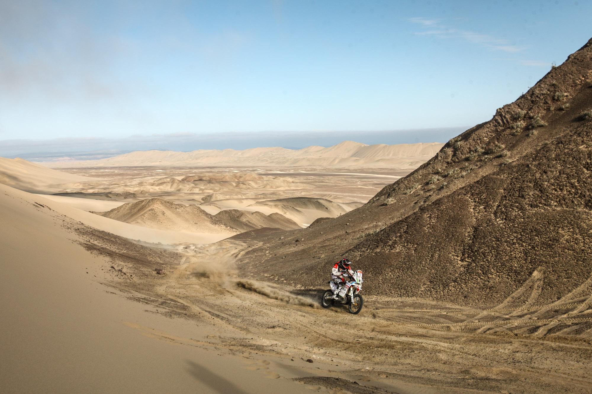 Chileno Quintanilla es 3° en el Desafío Inca