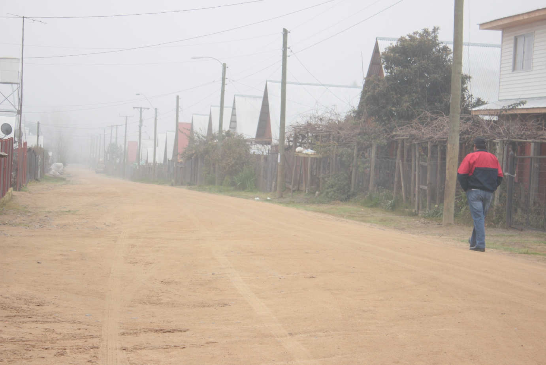 Pavimentarán Calles y Pasajes de Villa Amanecer de Vaquerías