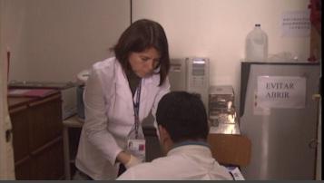 Examen de prevención de VIH para internos en carceles en el Maule