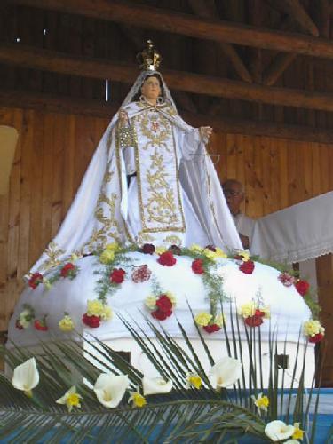 Celebran a Nuestra Señora de las Mercedes de Limávida
