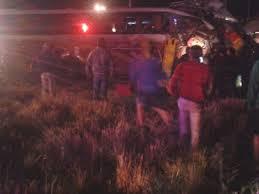 Colisión de bus con vehículo deja un Herido con Lesiones Graves en Longaví
