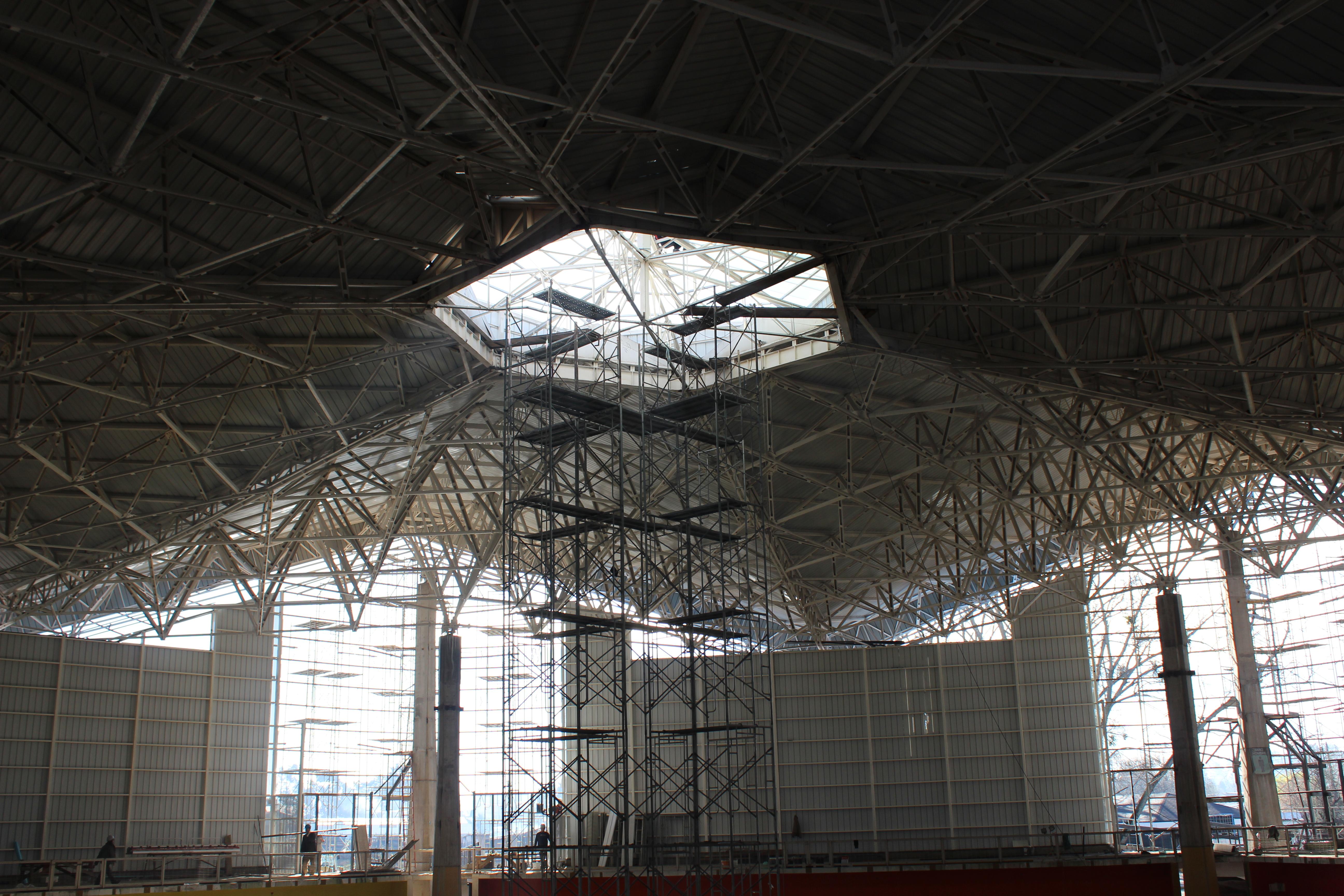 Fase Final para Construcción del Gimnasio Regional