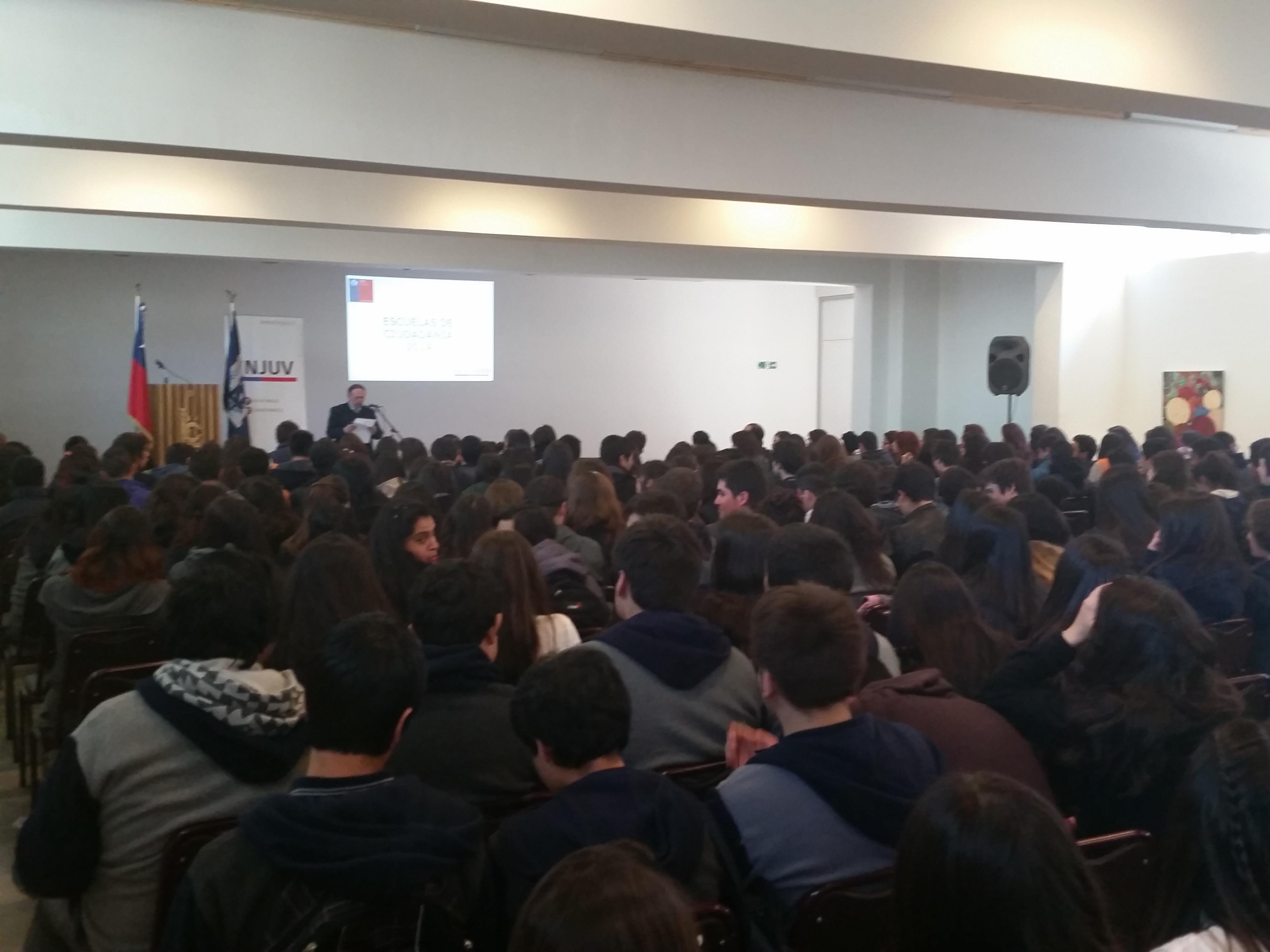 Comenzó Proyecto Escuela de Ciudadanía Juvenil