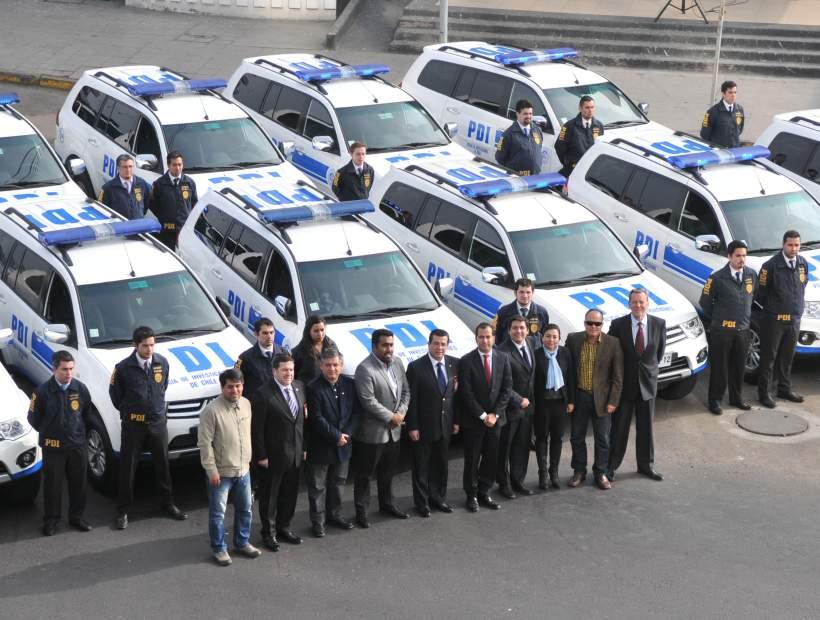 CORE Aprobó Adquisición de 20 nuevos Vehículos para la PDI del Maule