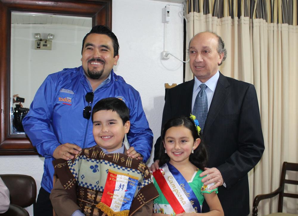 Javiera Godoy y Ehidan Yáñez son Campeones Nacionales de Cueca Infantil