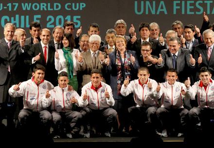 Lanzaron Campeonato Mundial de Fútbol Juvenil