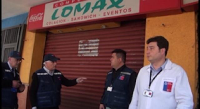 Seremi de Salud prohíbe funcionamiento de Lomax por encontrar insectos y basura en su interior