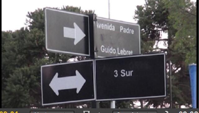Se inauguró avenida con nombre de Padre Guido Lebret en la circunvalación norte con 3 sur en Talca
