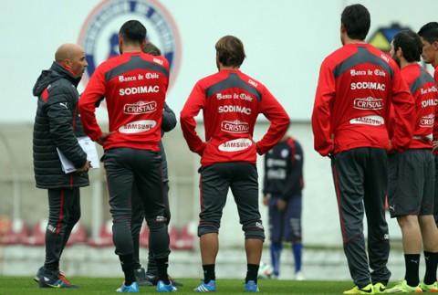 Chile sigue su preparación para la Copa América 2015