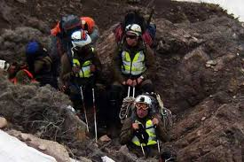 Rescatan a turista extraviado en la alta cordillera de Talca
