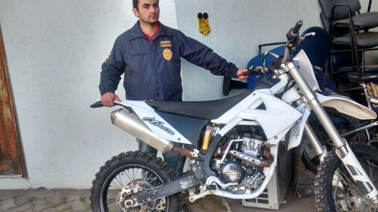 BICRIM recupera Motocicleta Avaluada en más de 3 millones y medio de pesos