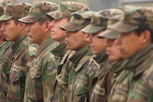 Jóvenes del año 1996 deben estar atentos al llamado para el servicio militar