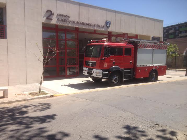 Segunda compañia de bomberos de Talca cumple 144 años de vida