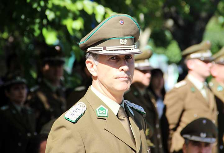 Coronel Aldo Vidal Asume como Nuevo Jefe de Zona en el Maule
