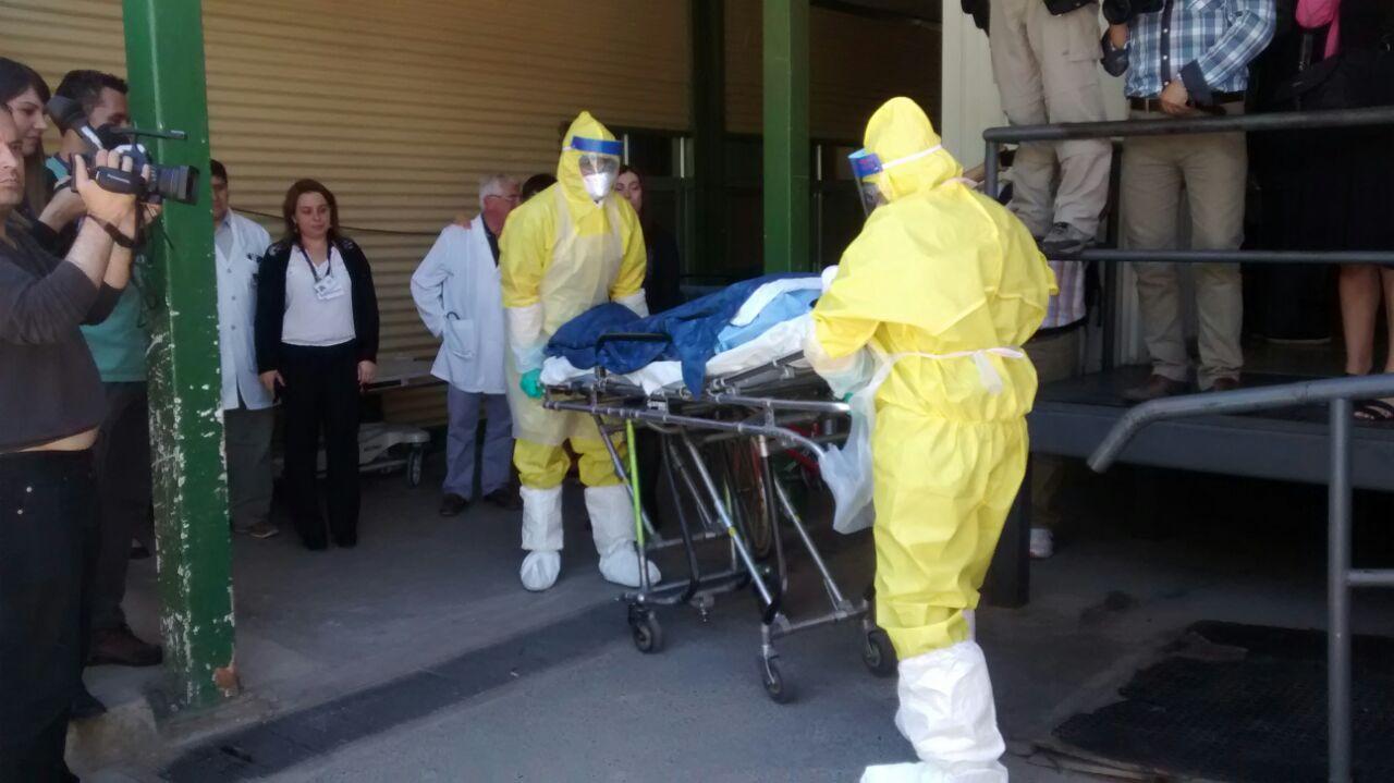 Como Positivo Calificaron Simulacro por Ébola en Talca