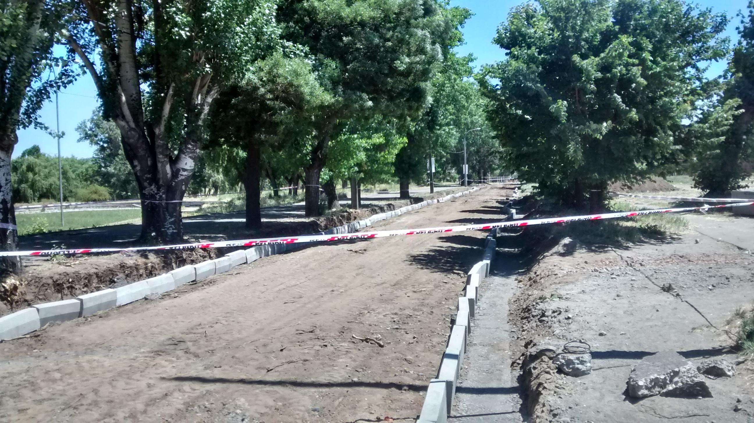 Mejoramiento de Calles en Avenida Costanera en Talca