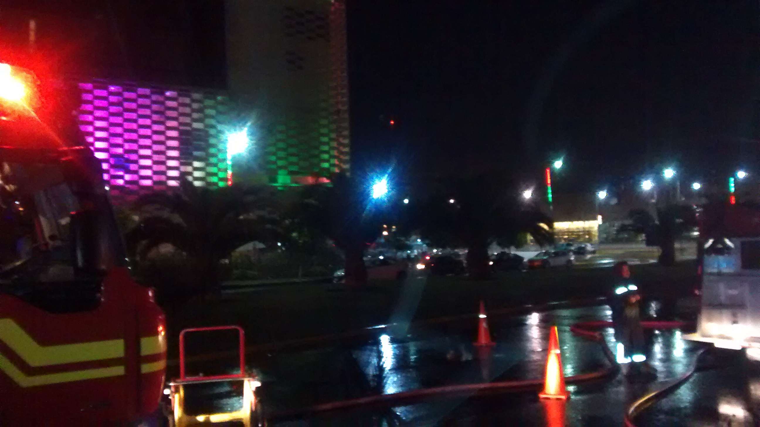 Incendio Afectó esta Madrugada a Discoteca Terrazas Club en Talca