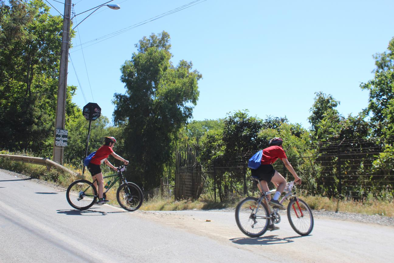 Deportistas se Tomaron el Cerro de La Virgen en Talca