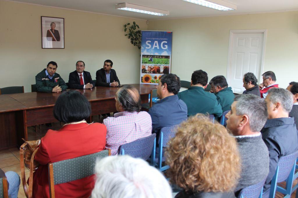 71 Millones para Programa de Recuperación de Suelos en Talca