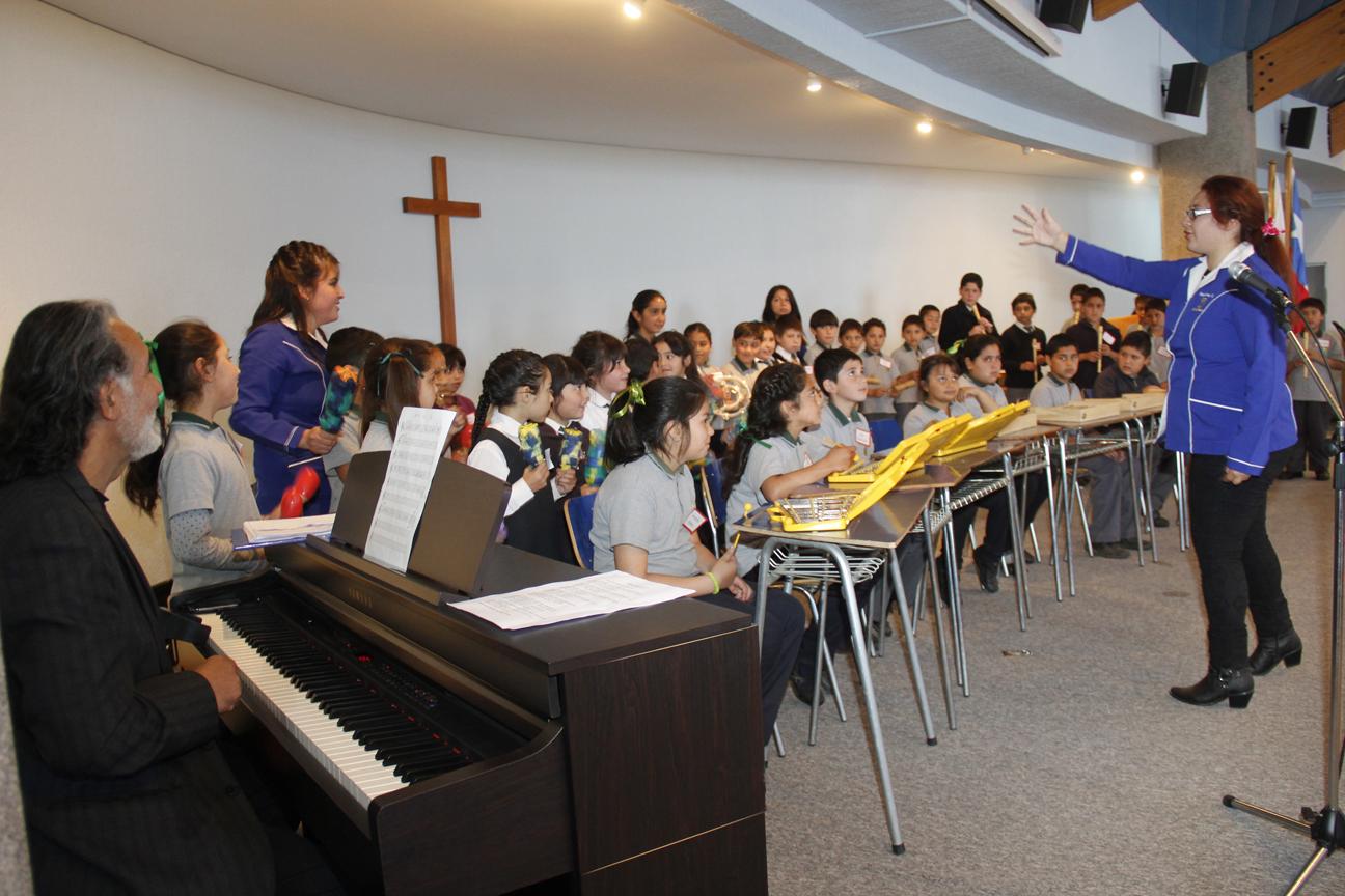 Masivo Encuentro de Orquestas Rítmicas para Escolares