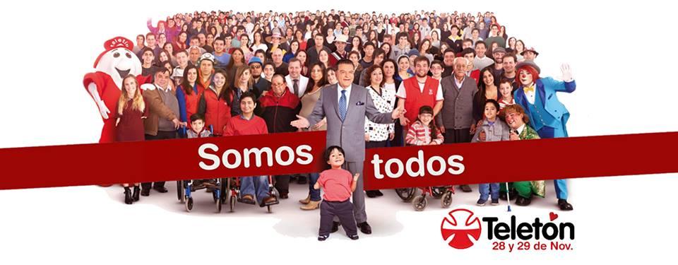 Masivo Flashmob por la Teletón en Talca