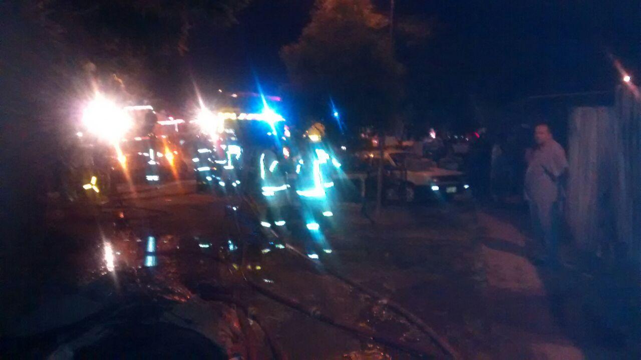 Incendio Destruyó Tres Viviendas en Talca