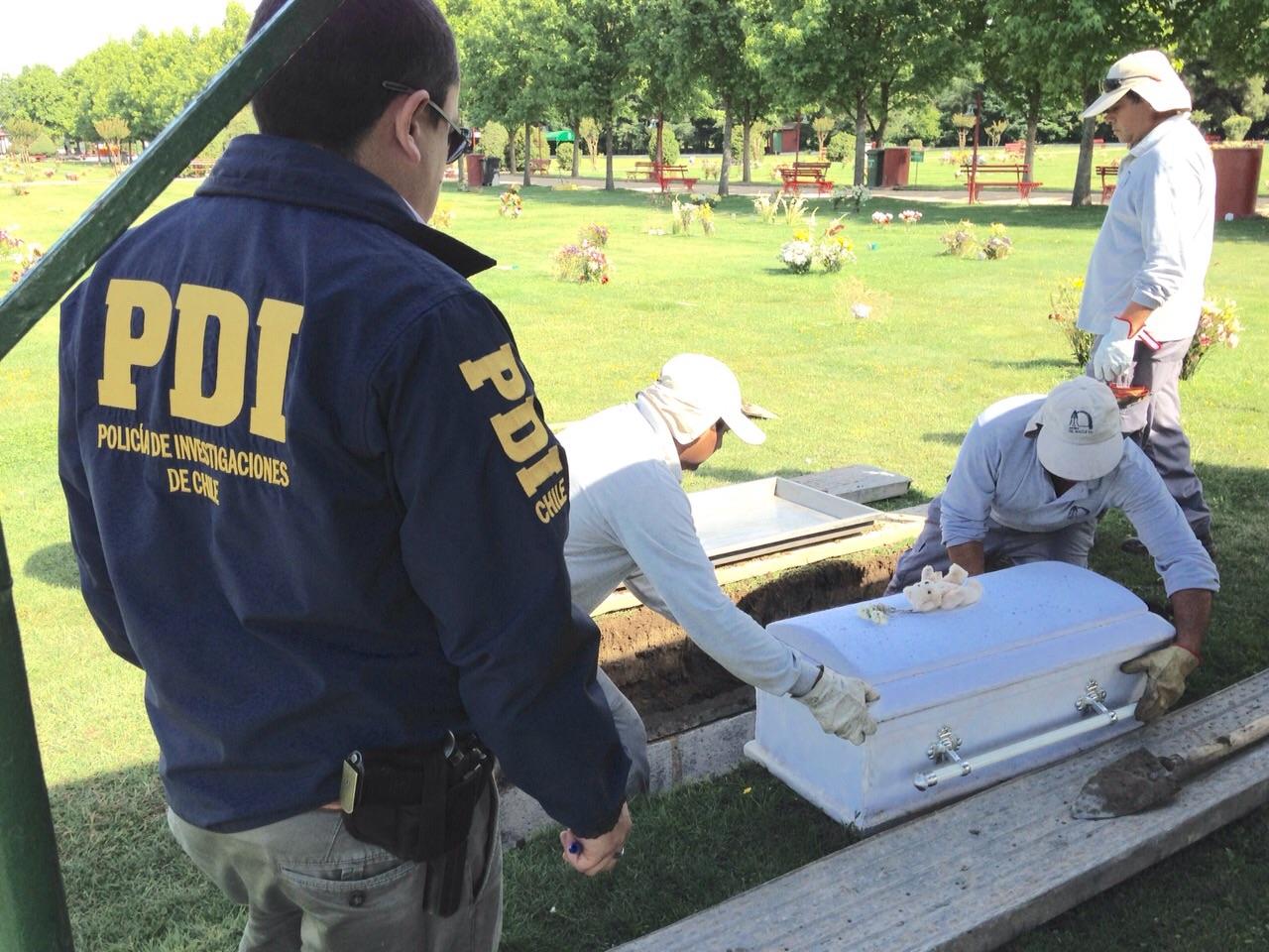 Exhuman Restos de Hermanos Muertos en Extrañas Circunstancias en Talca