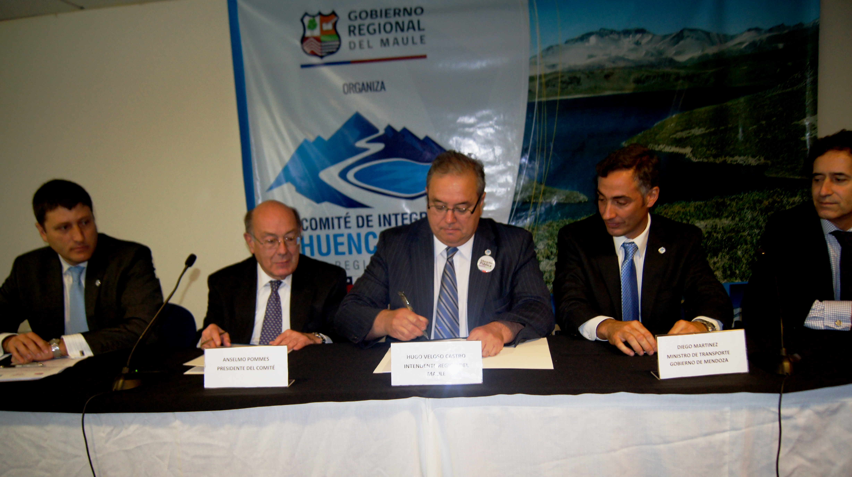 Chile y Argentina firman Acta de Cierre de XXII Comité de Integración Paso Pehuenche