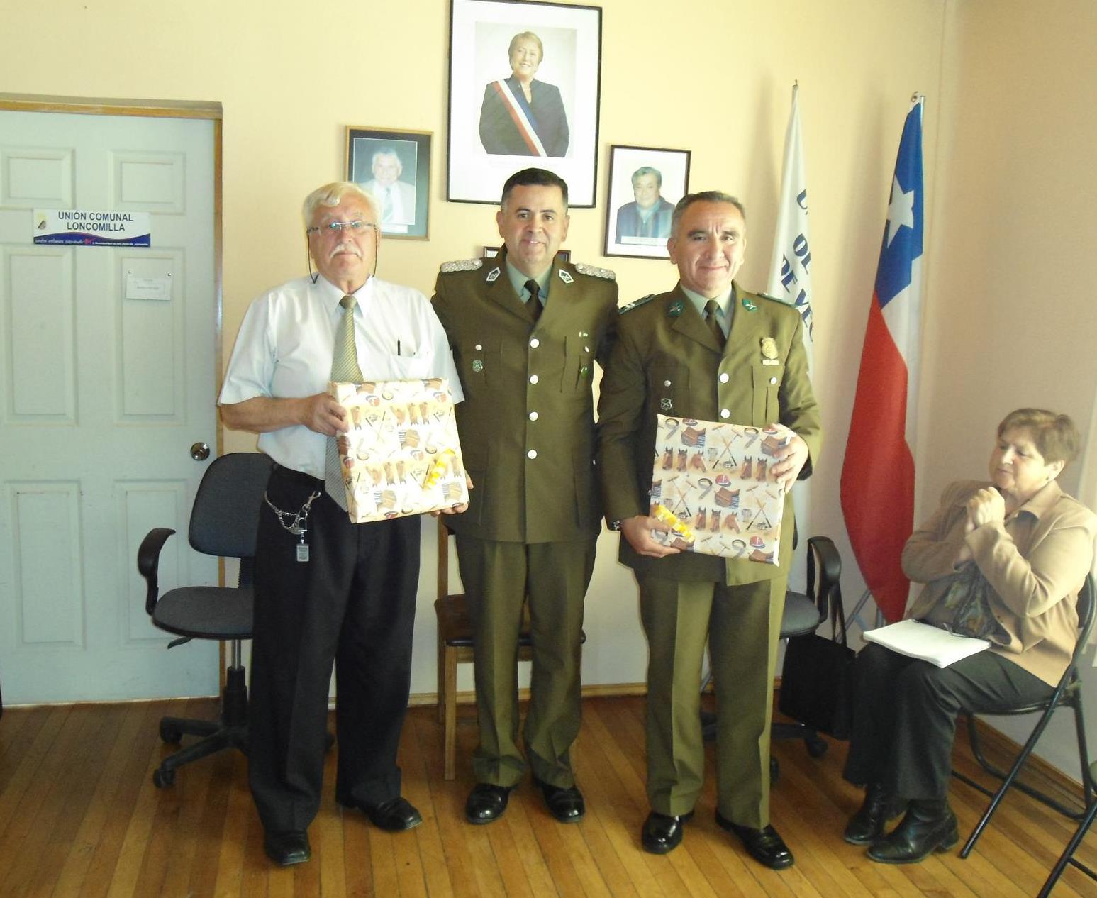 Suboficial de Carabineros Recibe Reconocimiento en San Javier