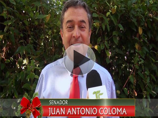 Saludo Navideño del Senador Juan Antonio Coloma