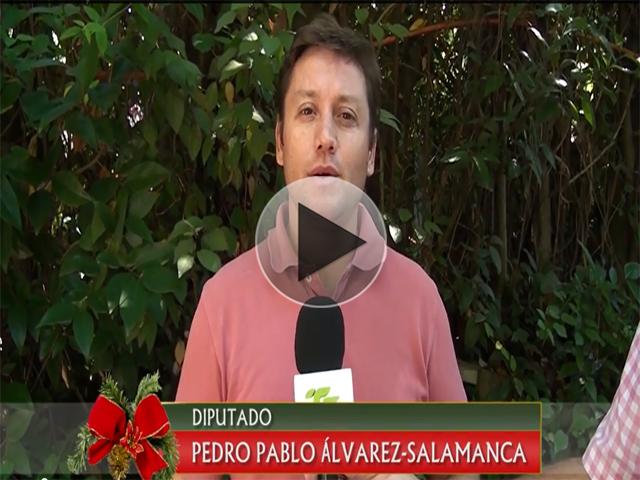 Saludo de Navidad de Diputado Pedro Pablo Álvarez-Salamanca