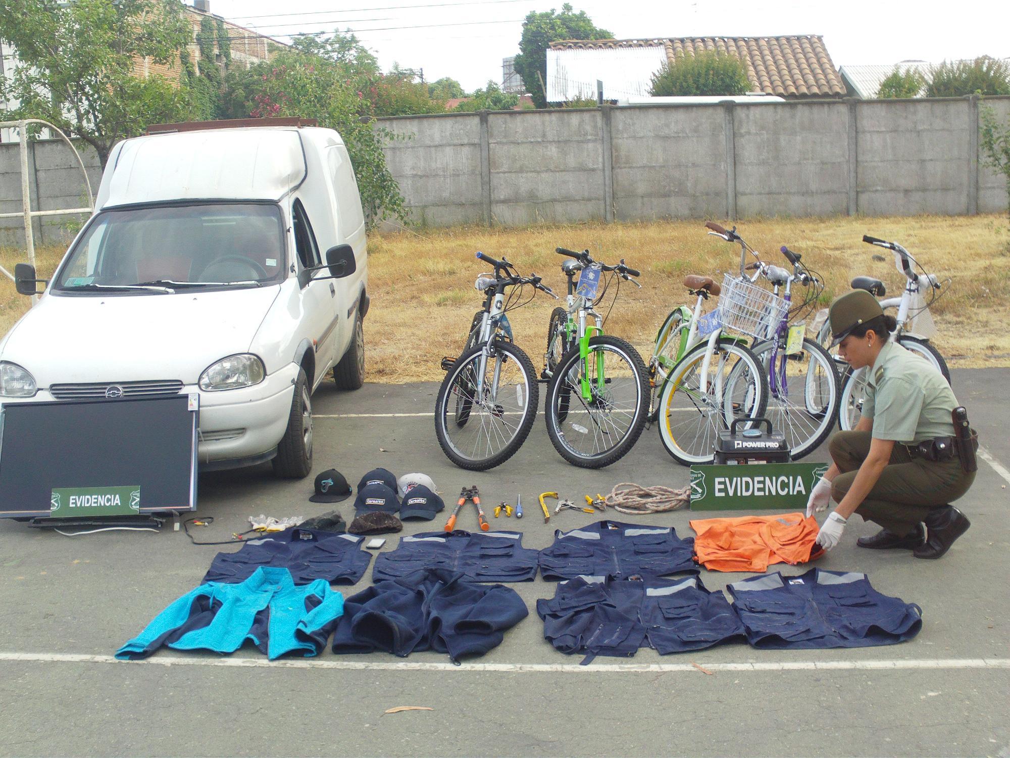 Carabineros Recupera Especies Avaluadas en Dos Millones de pesos