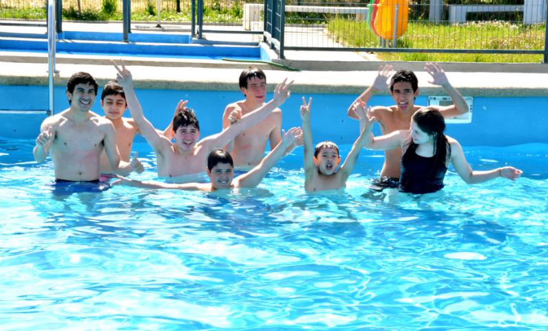 Se da el Vamos a Temporada de Piscinas en Talca