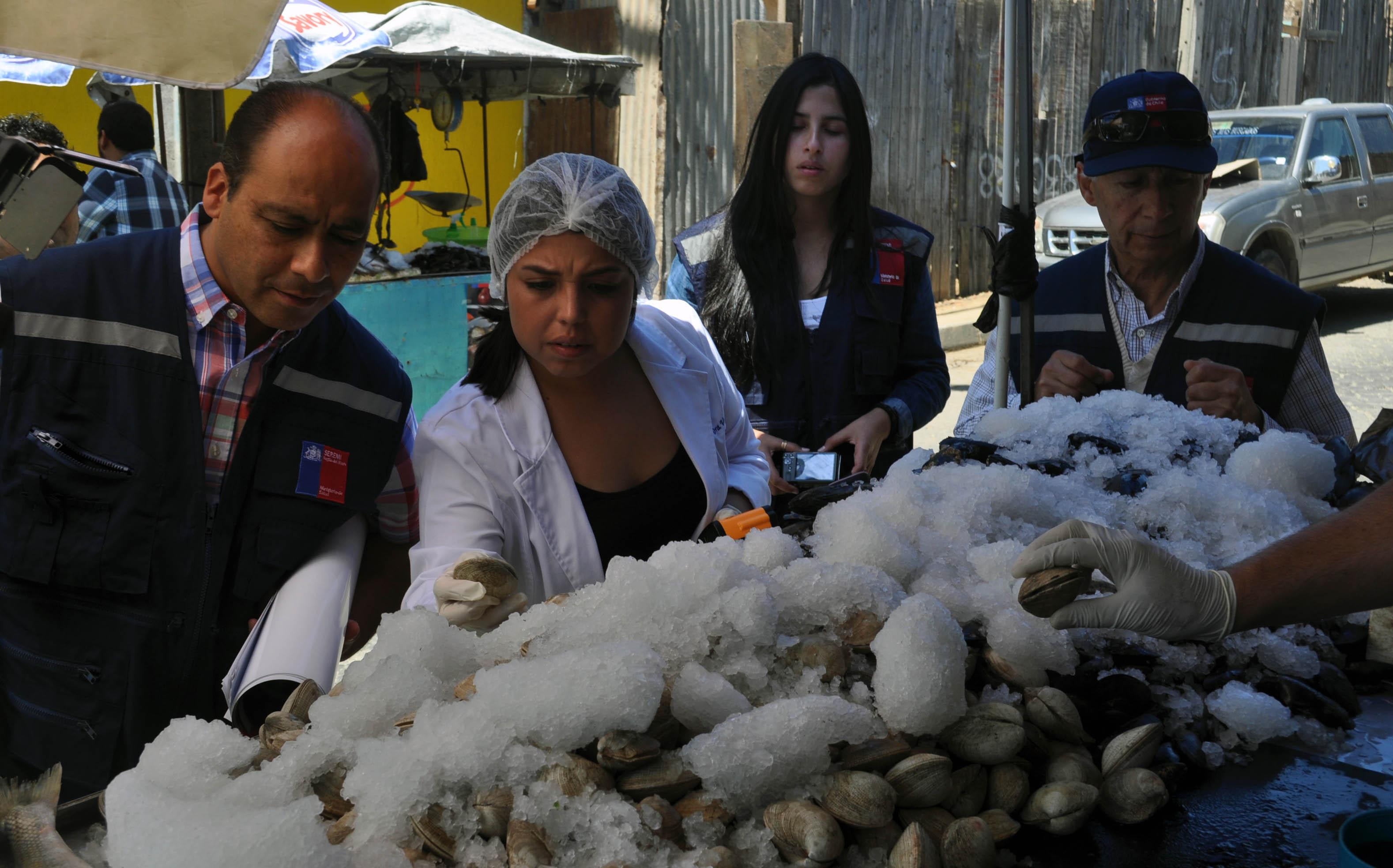 Refuerzan Campaña de Consumo de Mariscos Cocidos