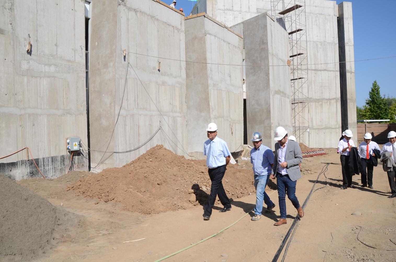 Emblemático edificio Bicentenario en Talca está en última etapa de construcción