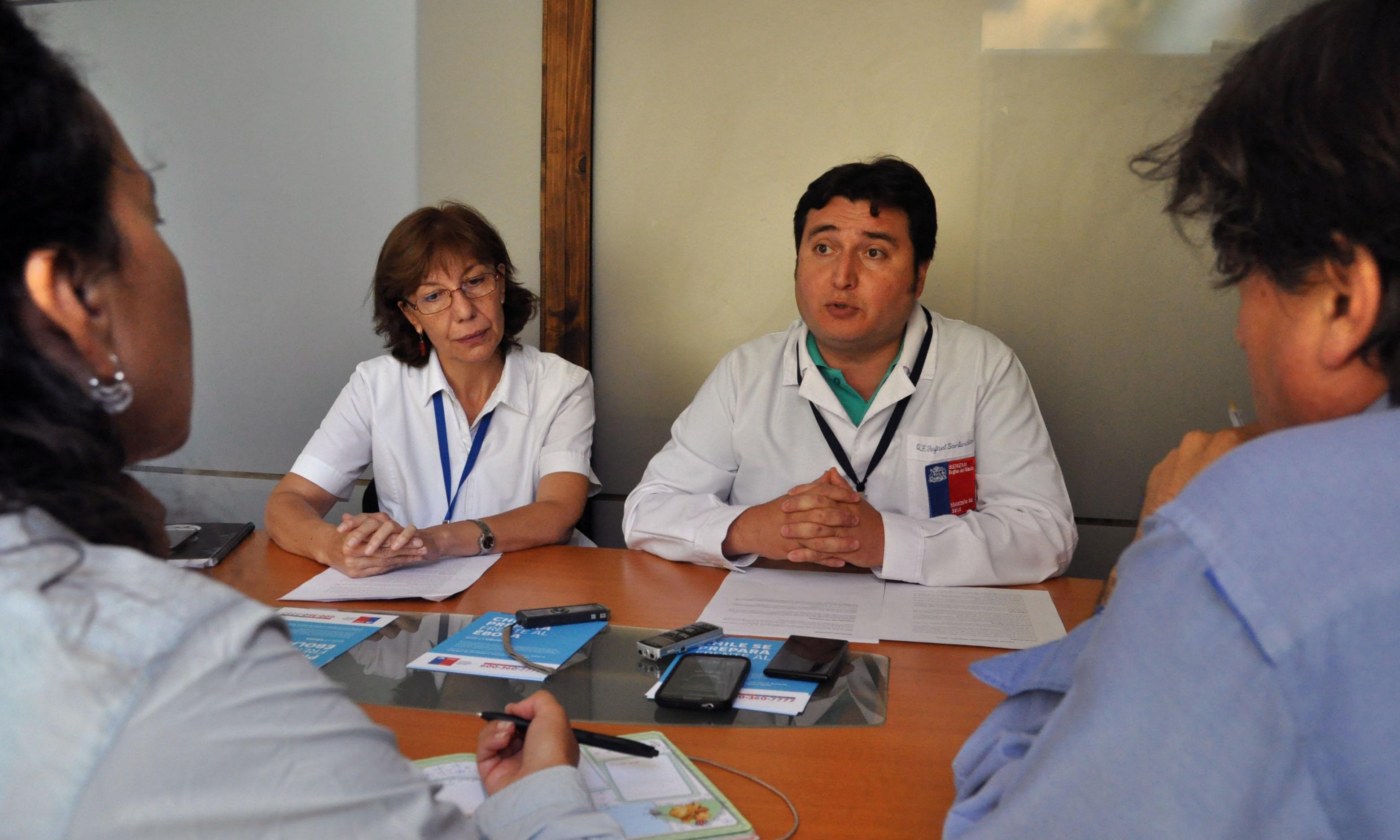 Autoridades de Salud Descartan Caso de Ébola en Curicó