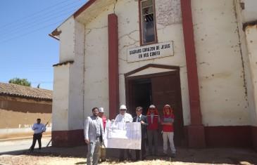 Inician Reconstrucción de Parroquia de Gualleco