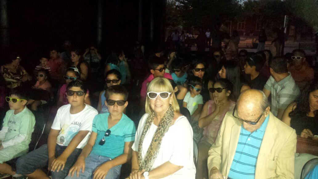 Éxito Total del Cine 3D en Pencahue