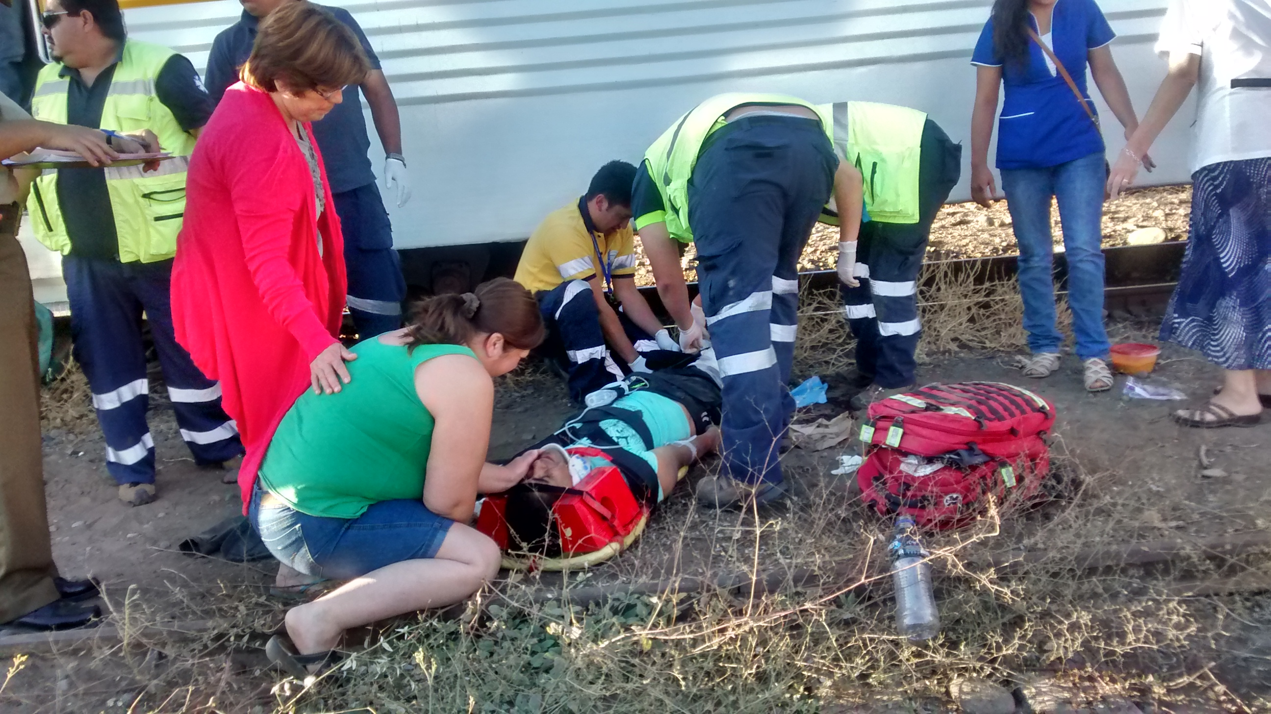 Hombre pierde sus piernas, luego que fuera arrollado por el tren Ramal Talca Constitución