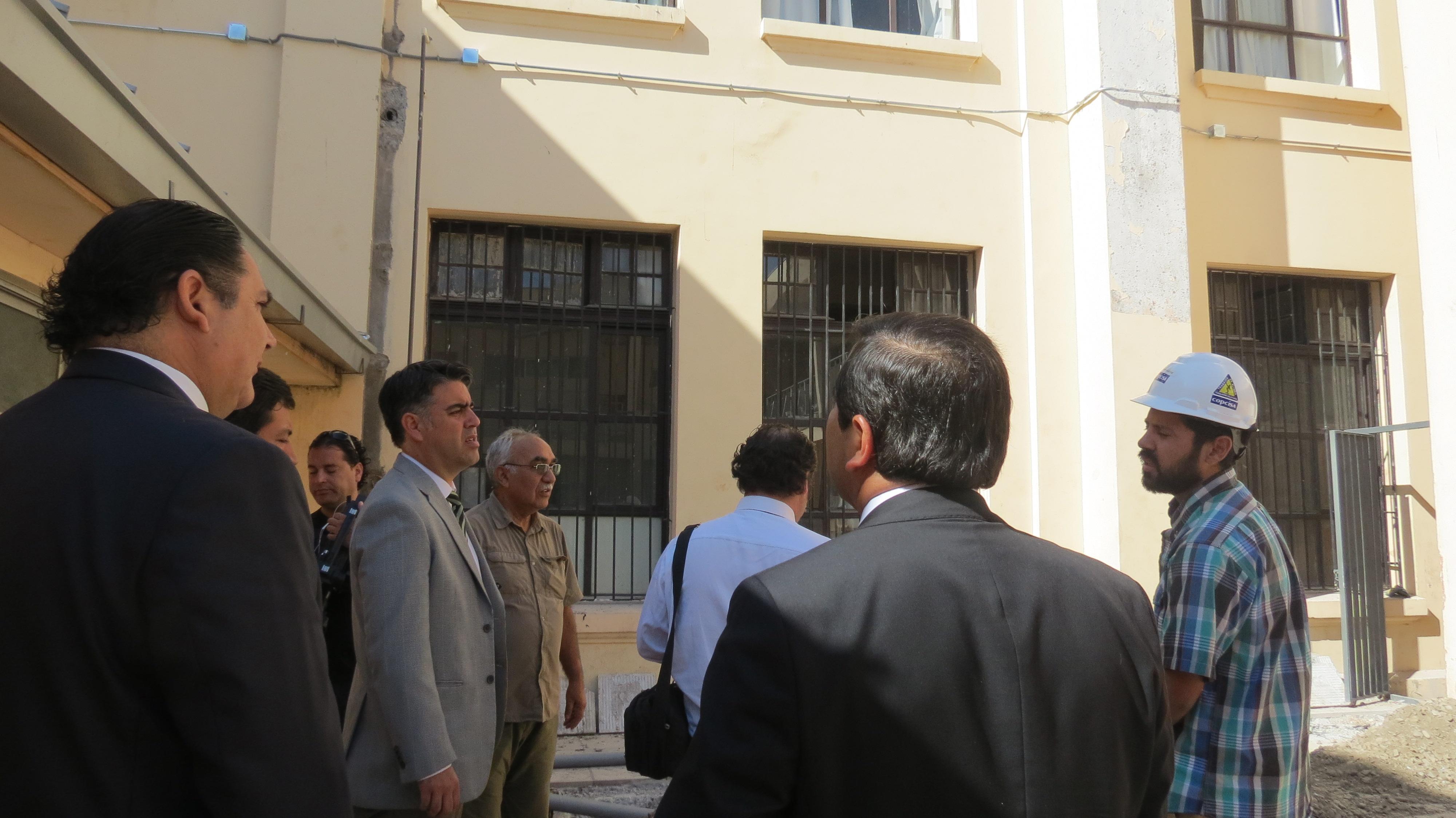 Liceo Abate Molina concluye proceso de reconstrucción