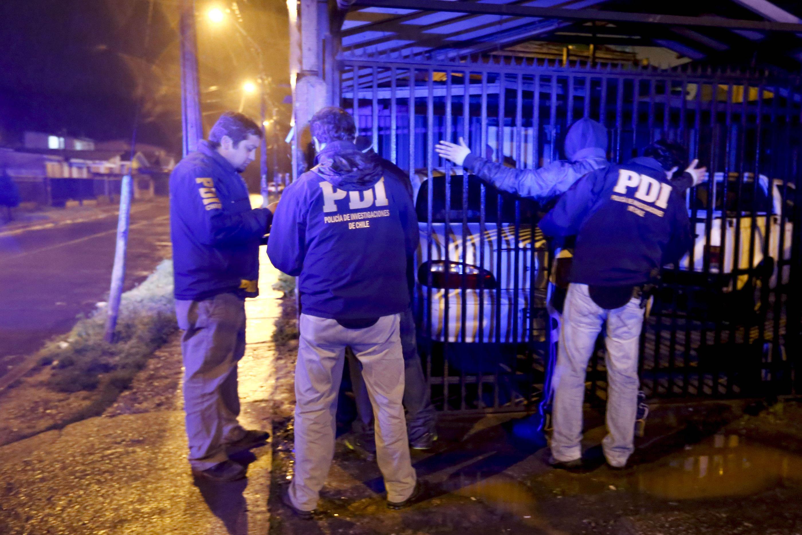 PDI de Curicó detiene a 14 personas en servicio policial