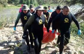 Tristeza por Muerte de Joven Ahogado en Río Loncomilla