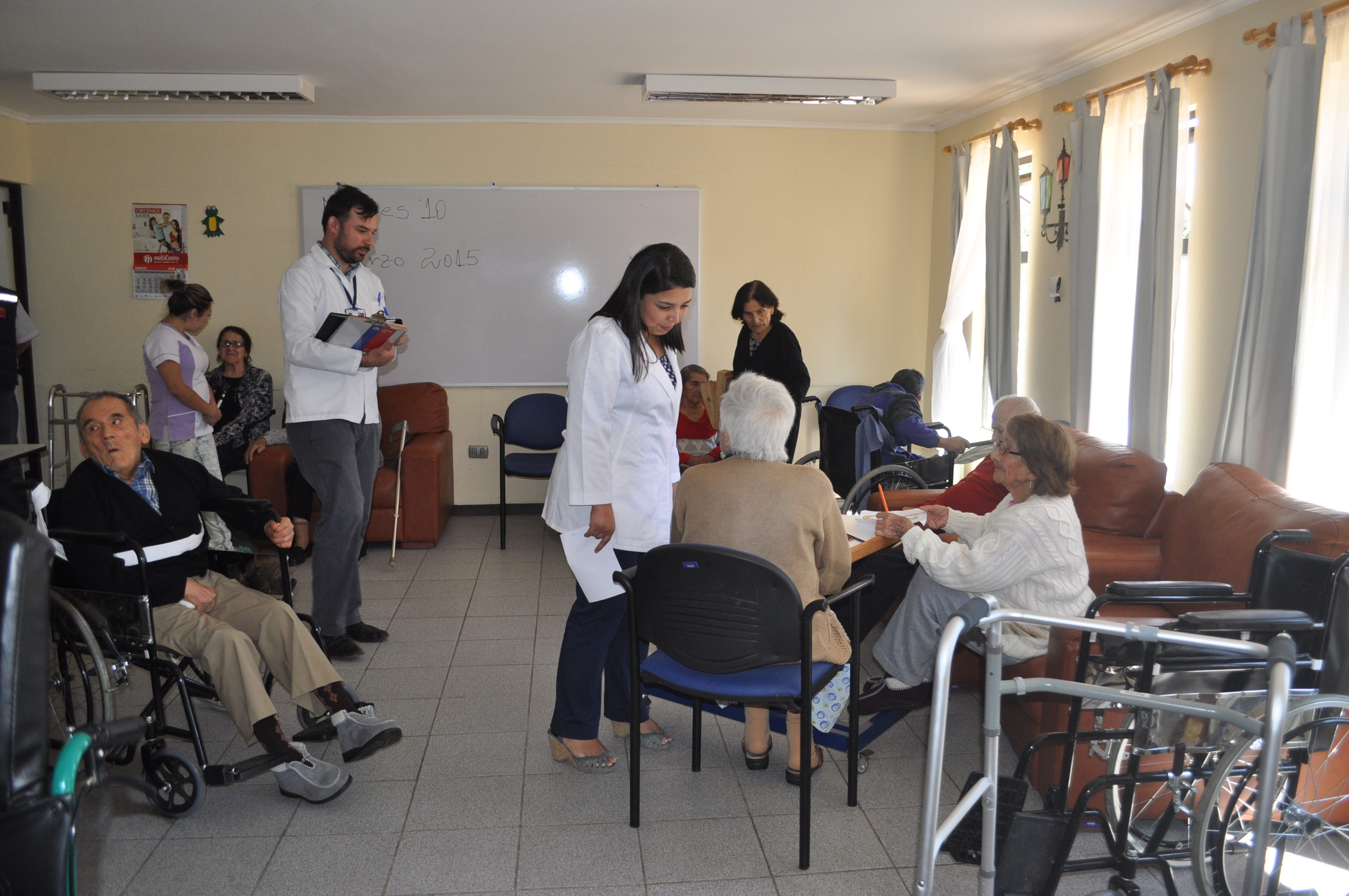 Establecimientos para adultos mayores pasan fiscalización en Cauquenes