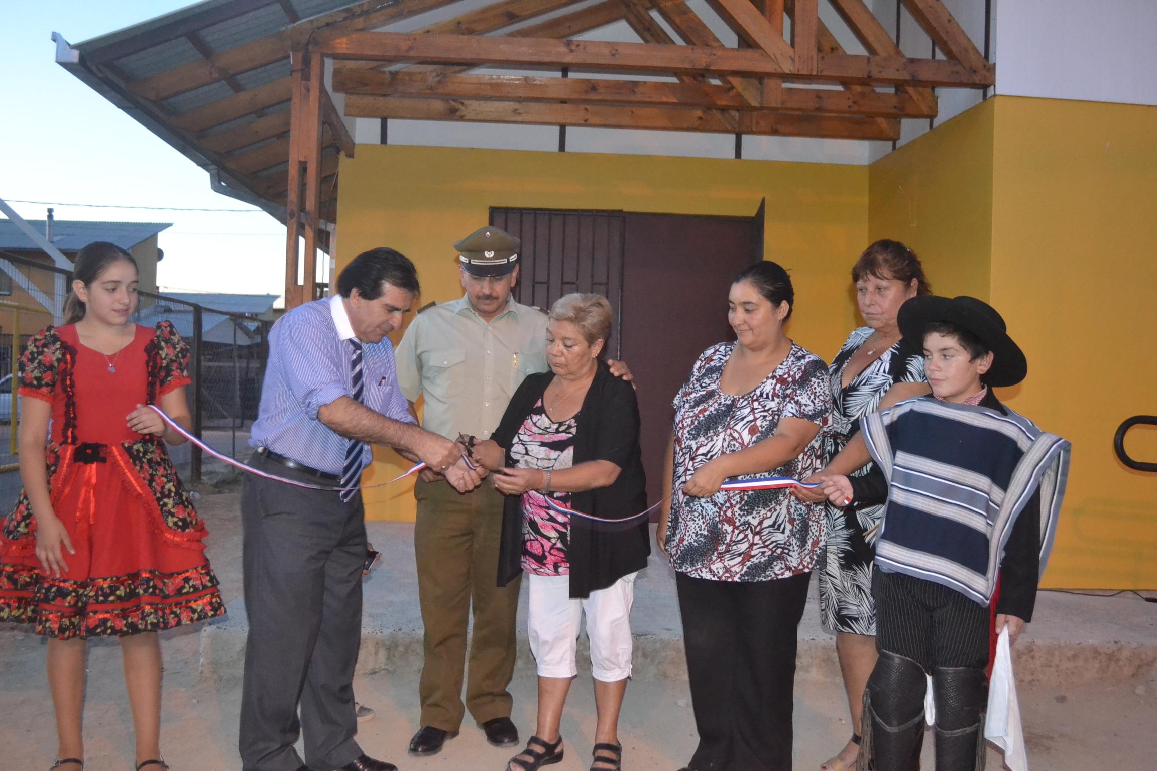 Inauguran flamante sede social Don Sebastían II de Colín