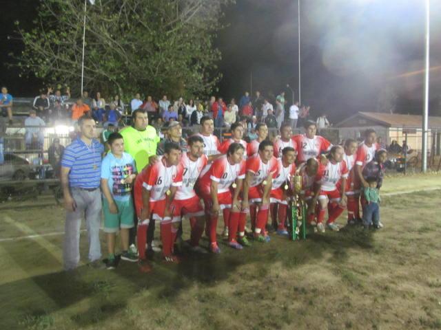 Vanguardia Unida es campeón de la copa barrio norte